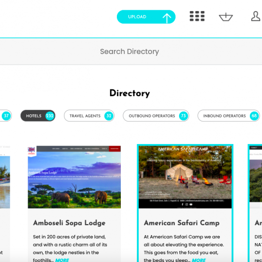 Directory Hotels